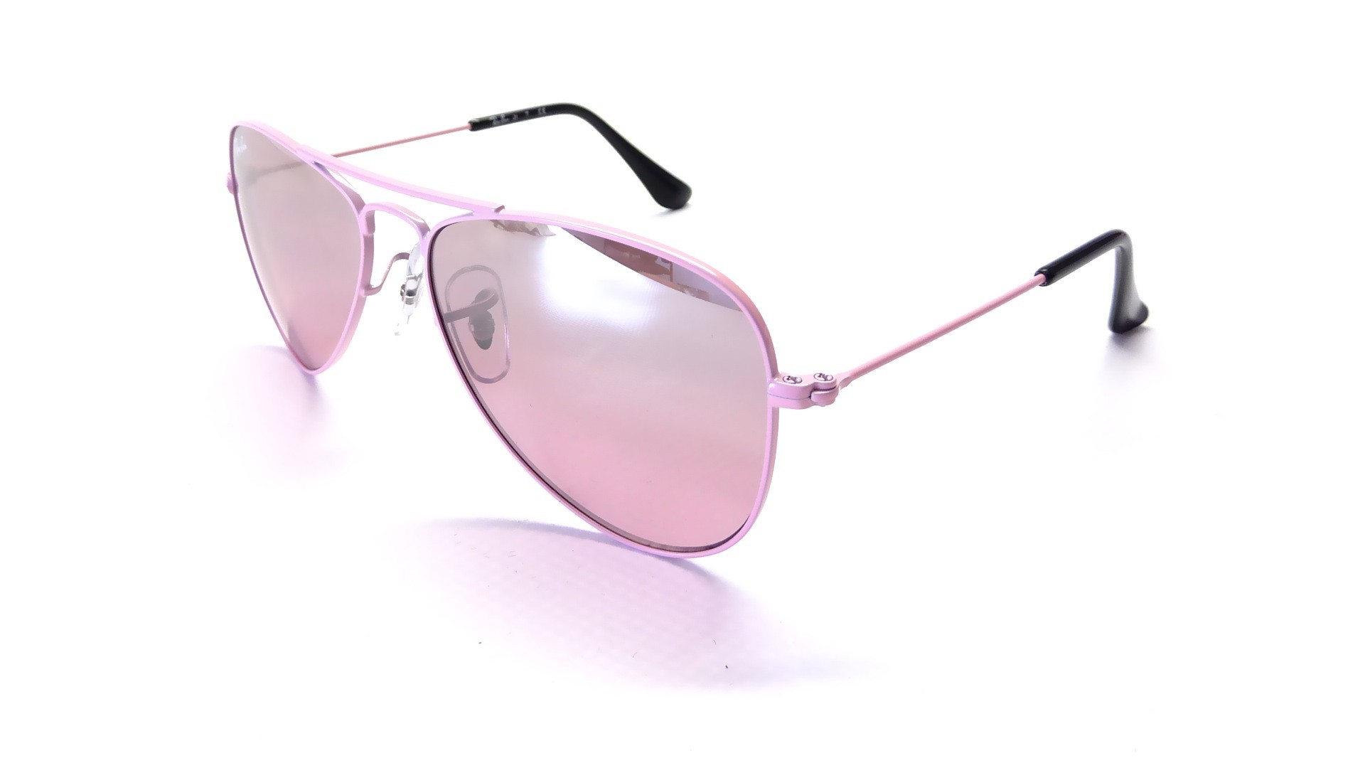 ray ban femme verre rose