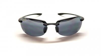 Maui Jim Sandy Beach 408 02 Schwarz Glasfarbe polarisiert