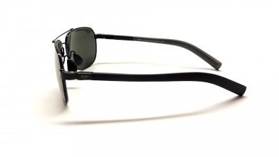 Lunettes de soleil Maui Jim Guardrails 327 02 Black and grey PolariZed lenses, mirror and anti reflection