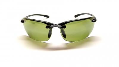 Maui Jim Banyans HT412 02 schwarz Glasfarbe polarisiert