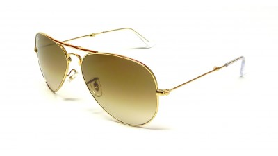 Ray-Ban Aviator Gold RB3479 001/51 58-14 Folding