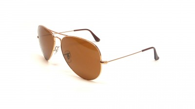 aa4fd8d68b3931 édition limitée. Ray-Ban Aviator Large Metal Or RB3025 001 33 62-14 87,