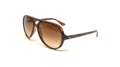Ray-Ban Cats 5000 Écaille RB4125 710/51 59-13 Large Dégradés