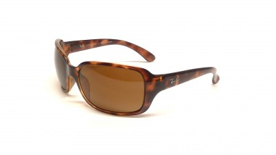 Ray-Ban RB4068 642/57 60-19 Tortoise Large Polarized