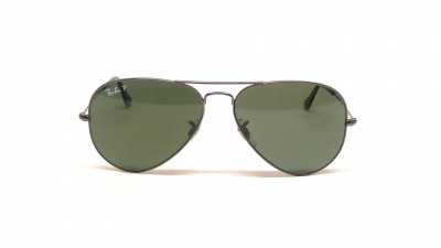 Ray-Ban P Aviator Large Metal Silver RB3025 004/58 58-14 Polarized