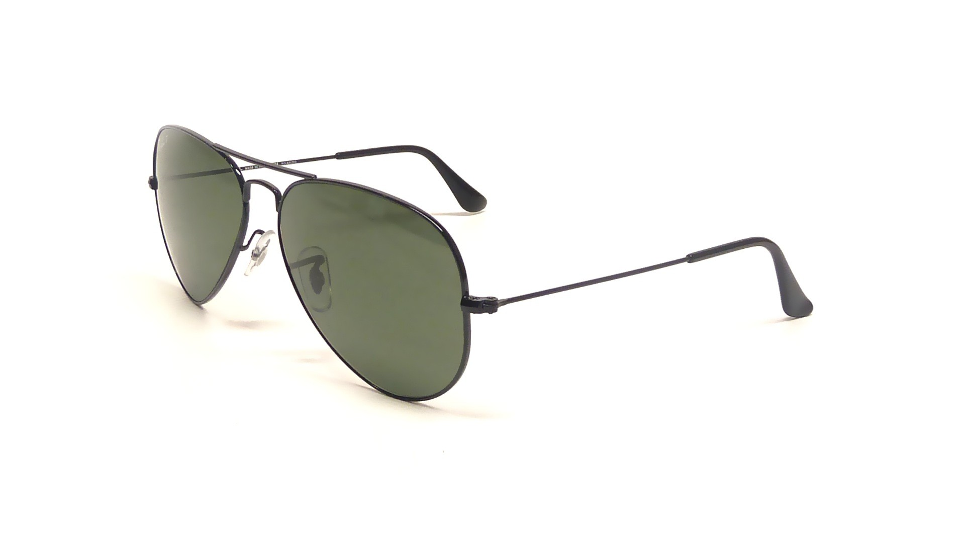 Large 14 Ray Noir 58 Polarisés Aviator Ban Medium Metal Rb3025 P 00258 R3jLA45