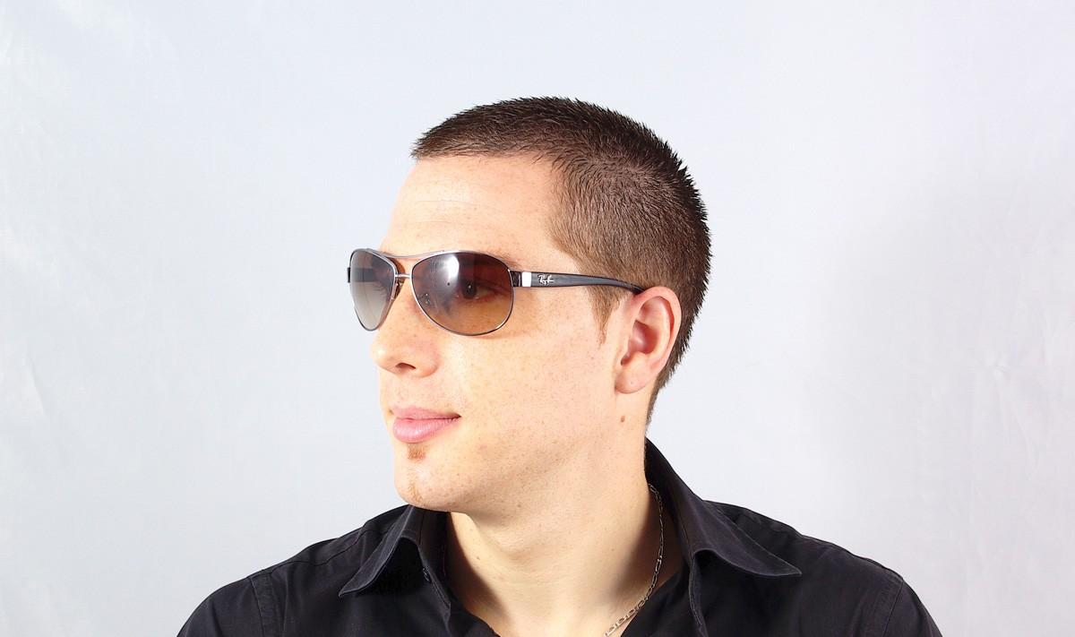Perfect Sunglasses Ray Ban RB3386 004/13 63 13 Black Medium Gradient
