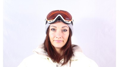 Lunettes de soleil Carrera M00349 Mirage Collection Powder Snow 7IR4B Blanc polarisiert Gläser et miroirs