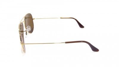 Ray-Ban Aviator Large Metal Gold RB3025 001/57 58-14 Polarisierte Gläser