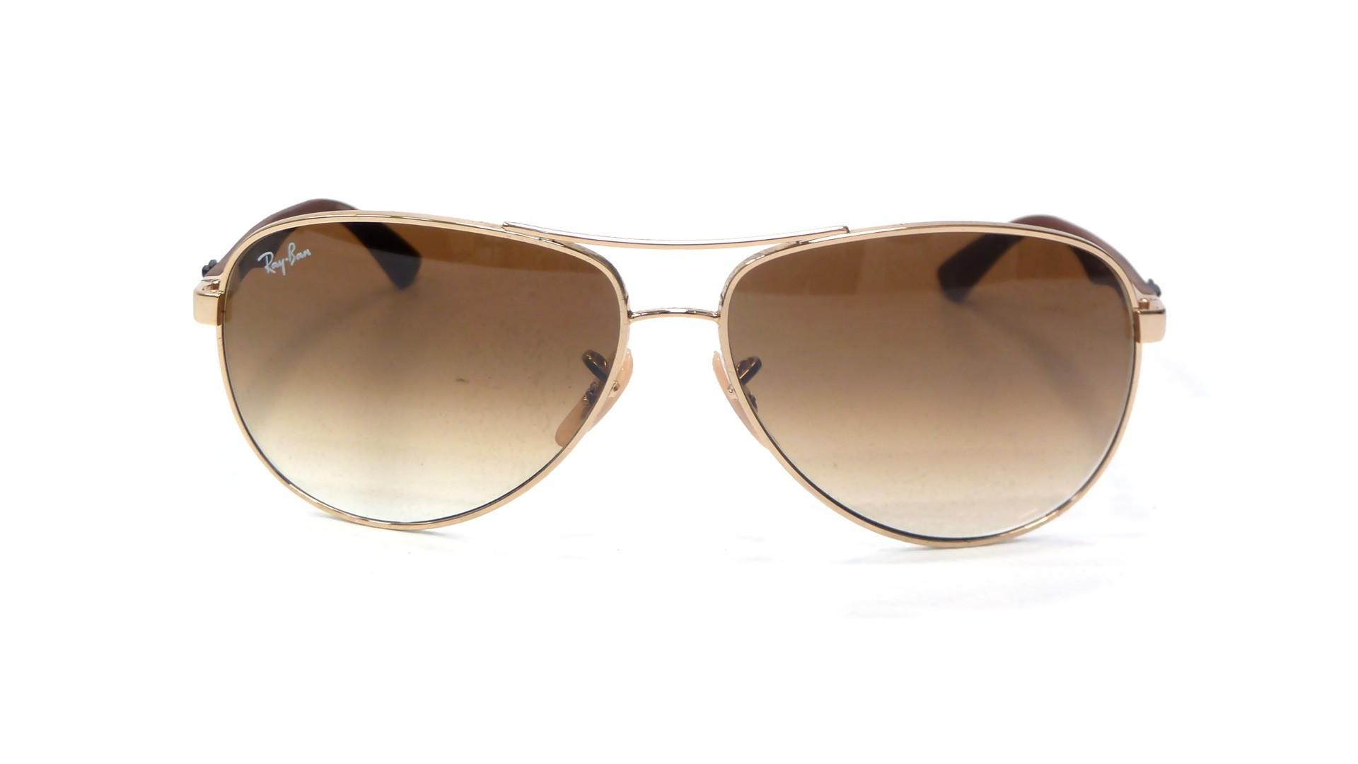ed25d9aa8c ... new arrivals sunglasses ray ban fibre carbon gold rb8313 001 51 58 13  medium gradient b5f43