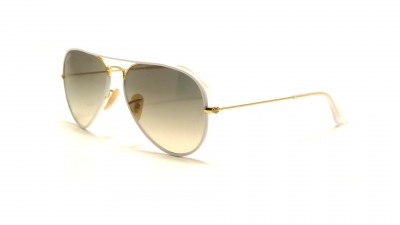 Ray-Ban Aviator Full Color Weiß RB3025JM 146/32 58-14 79,33 €