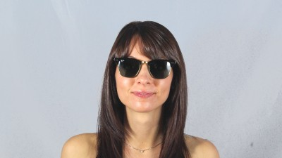 Ray-Ban Clubmaster Classic Black RB3016 W0365 51-21