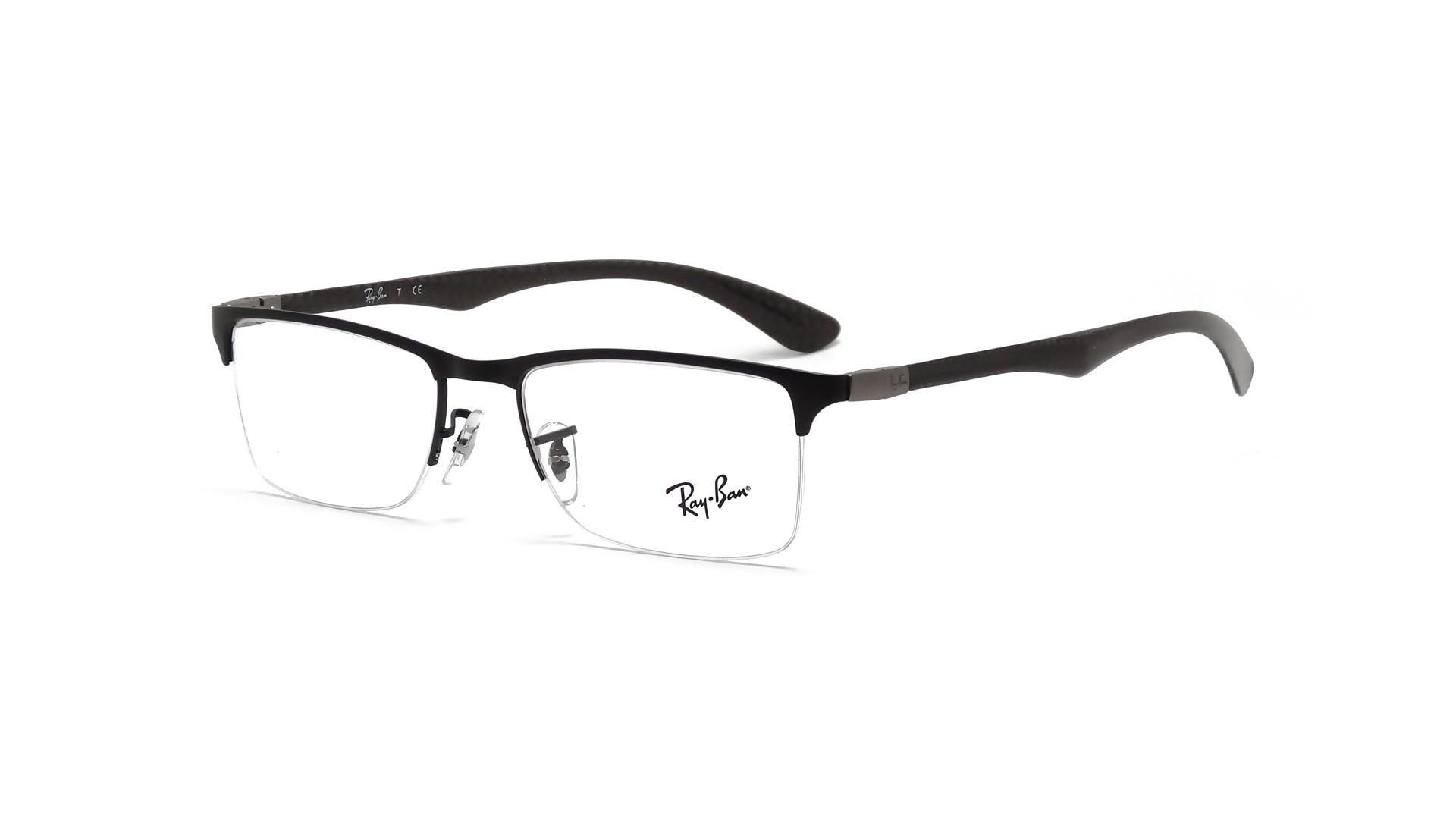bf1360566bc7 Eyeglasses Ray-Ban Tech Liteforce Black RX8413 RB8413 2503 52-18 Medium