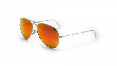 Ray-Ban P Aviator Large Metal Or Mat RB3025 112/4D 58-14 Polarisés