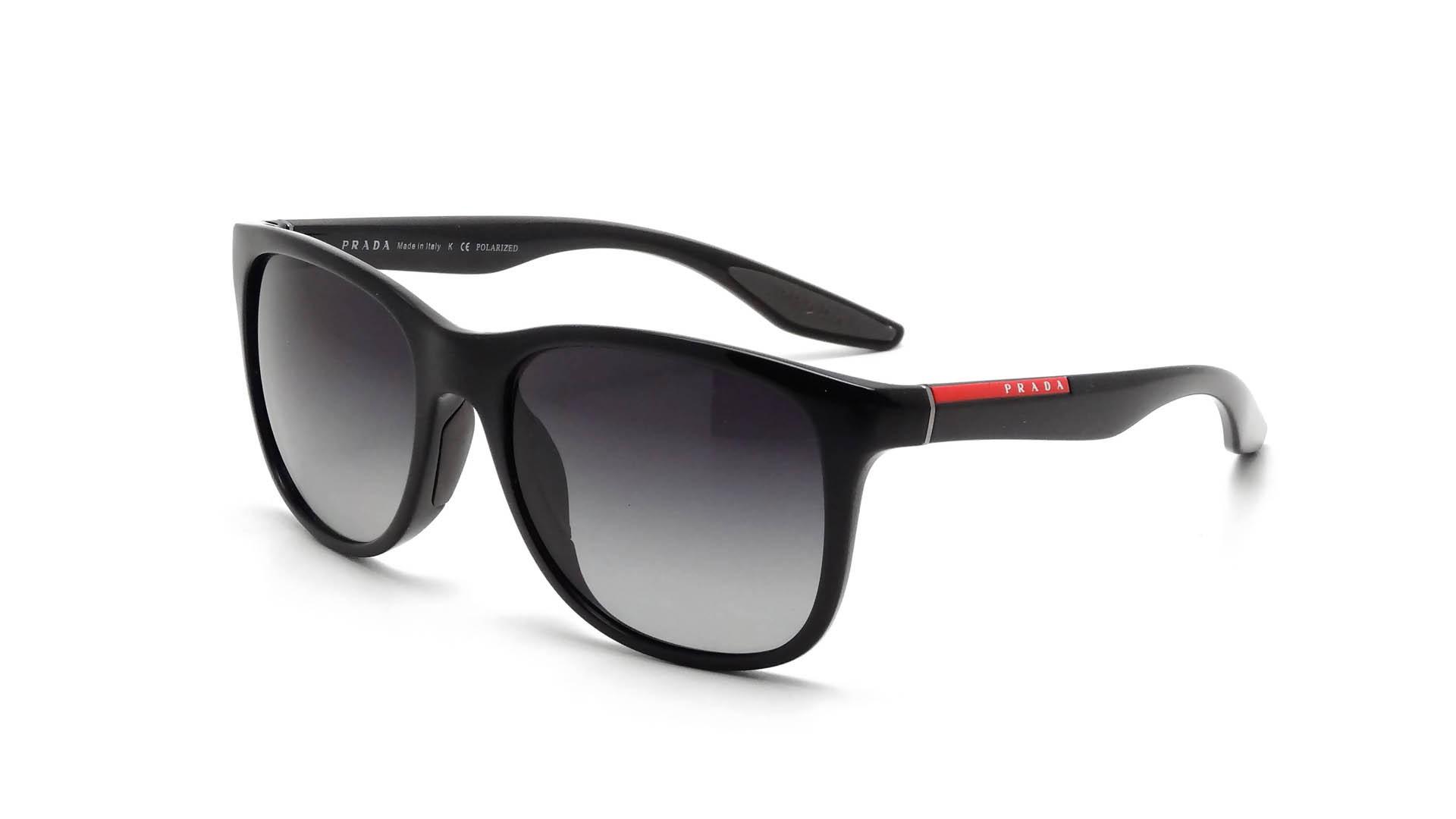9e247601e30 ... mens prada sunglasses 5af65 e33ea cheap sunglasses prada linea rossa  ps03os 1ab5w1 55 18 black medium polarized gradient a1f9a ecffa ...