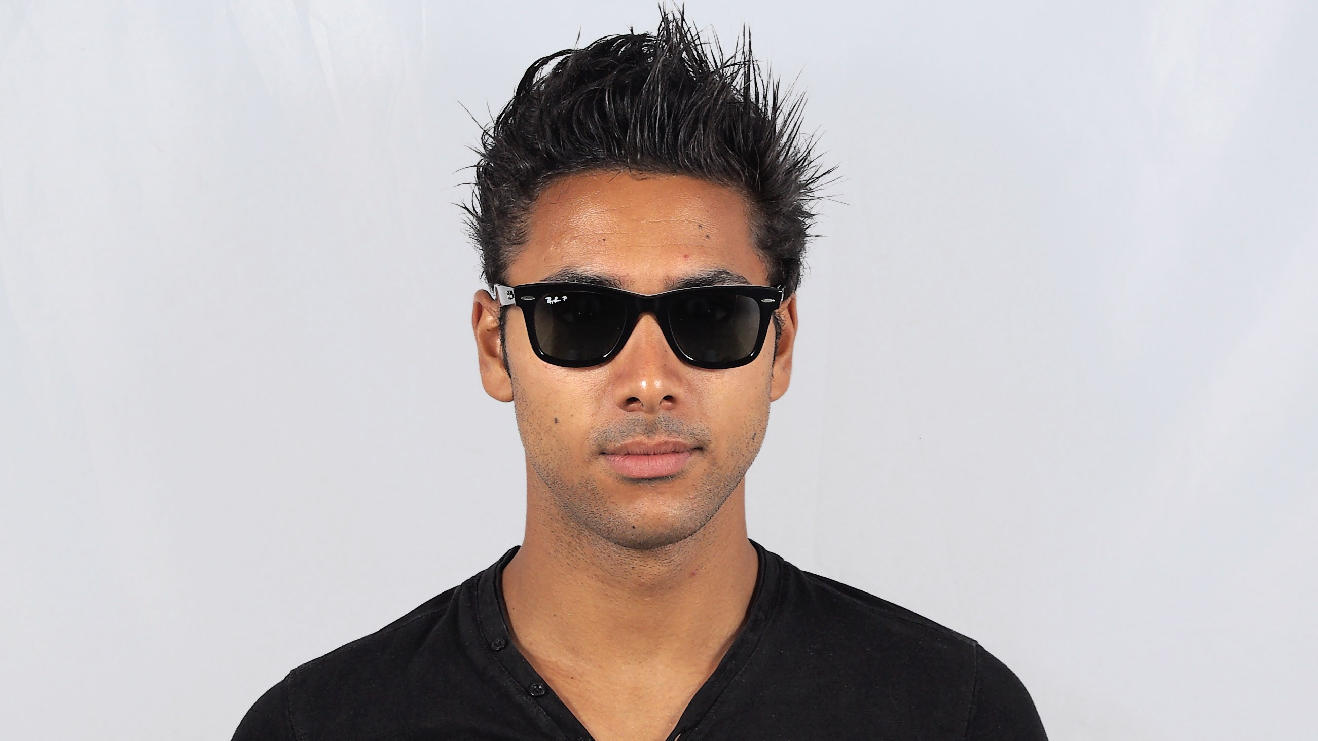 17ec2ff042 ... sweden sunglasses ray ban original wayfarer rare prints black rb2140  1131 58 50 22 medium polarized