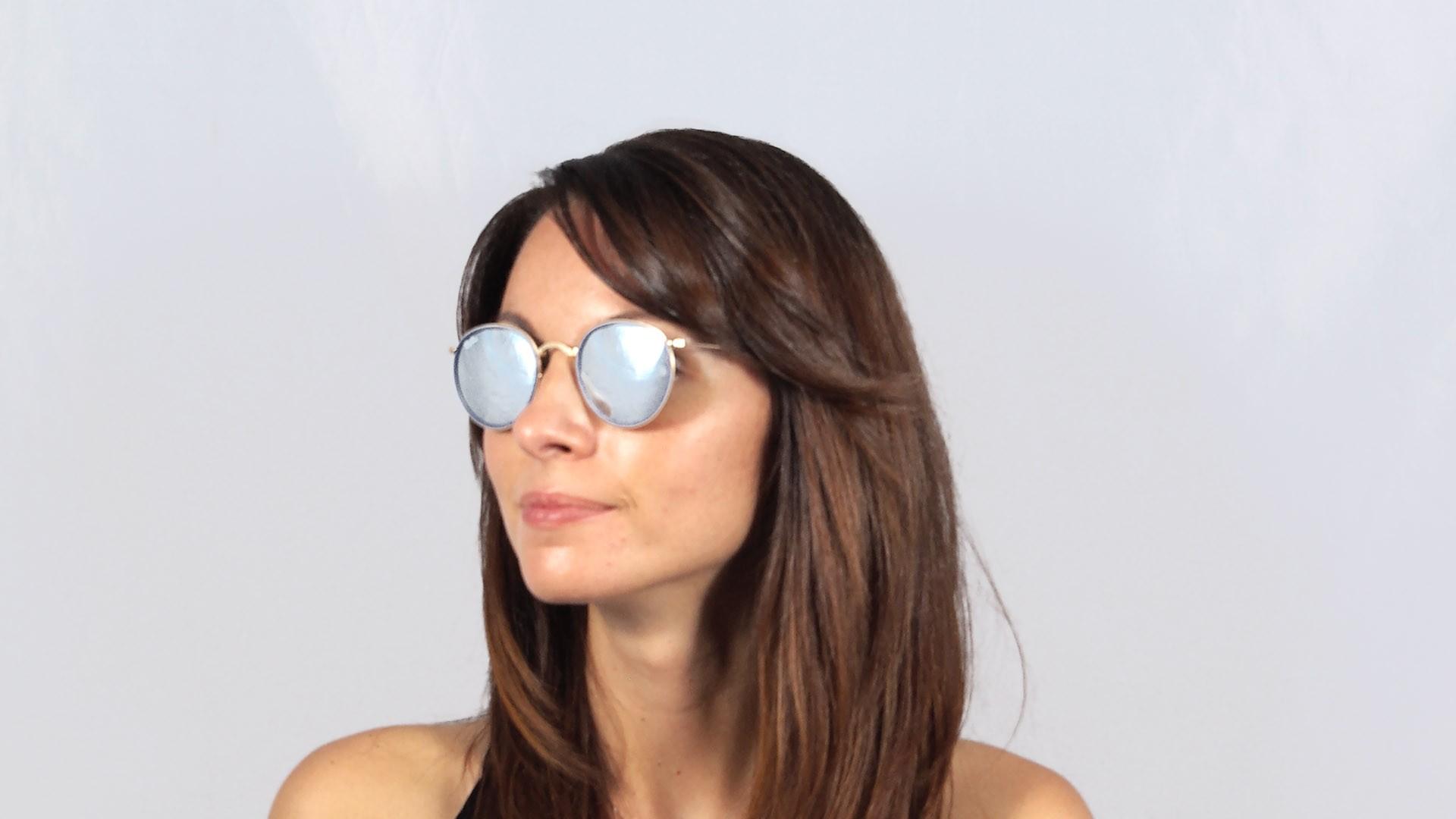 2d7b94e44eb ... sunglasses rb3447 53 a583e 39887 sweden ray ban round metal bleu rb3517  001 30 48 22 pliantes prix 14990 visiofactory 83955 ...