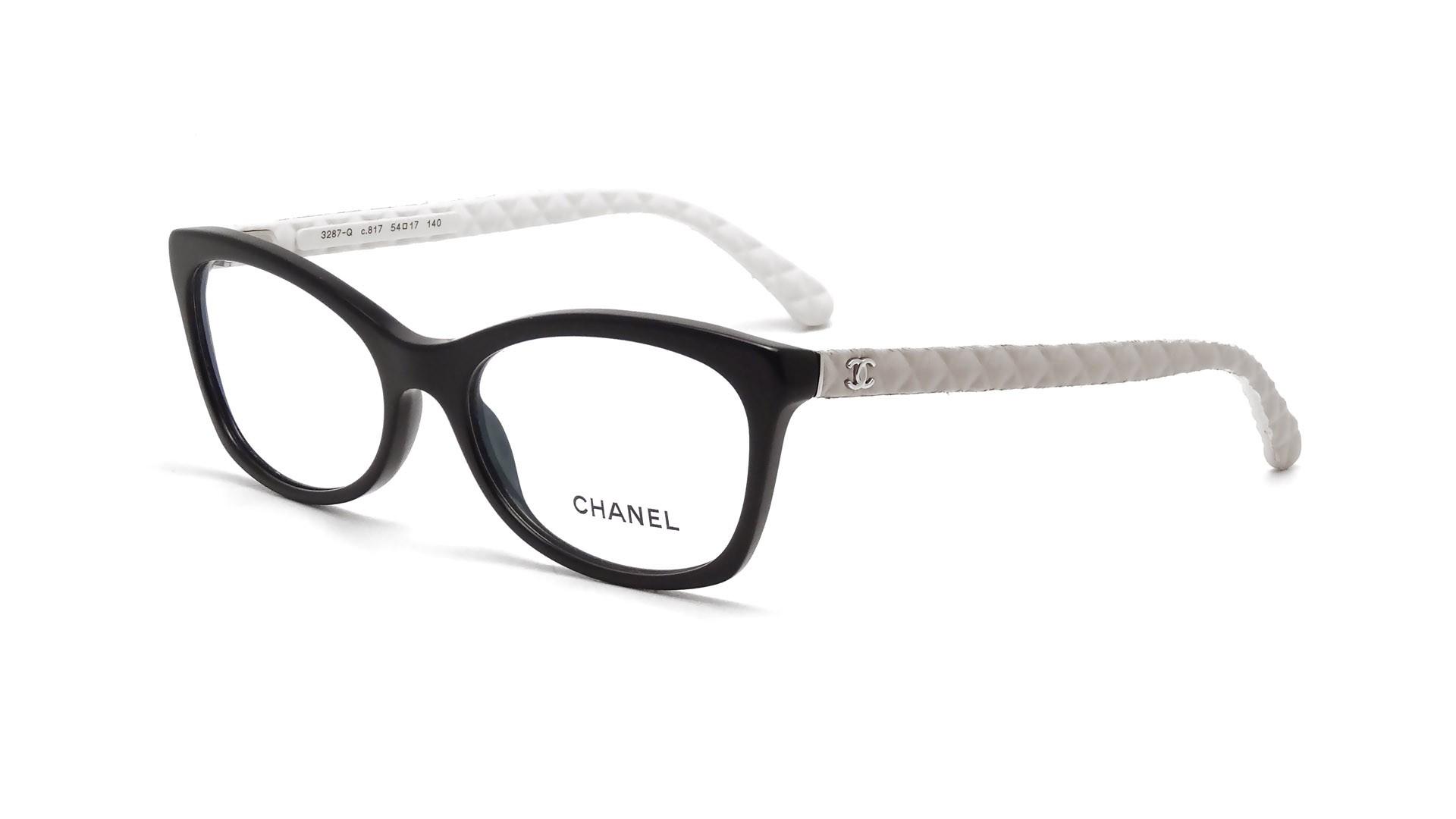 Chanel CH3287Q 817 54-17 Black | Visiofactory