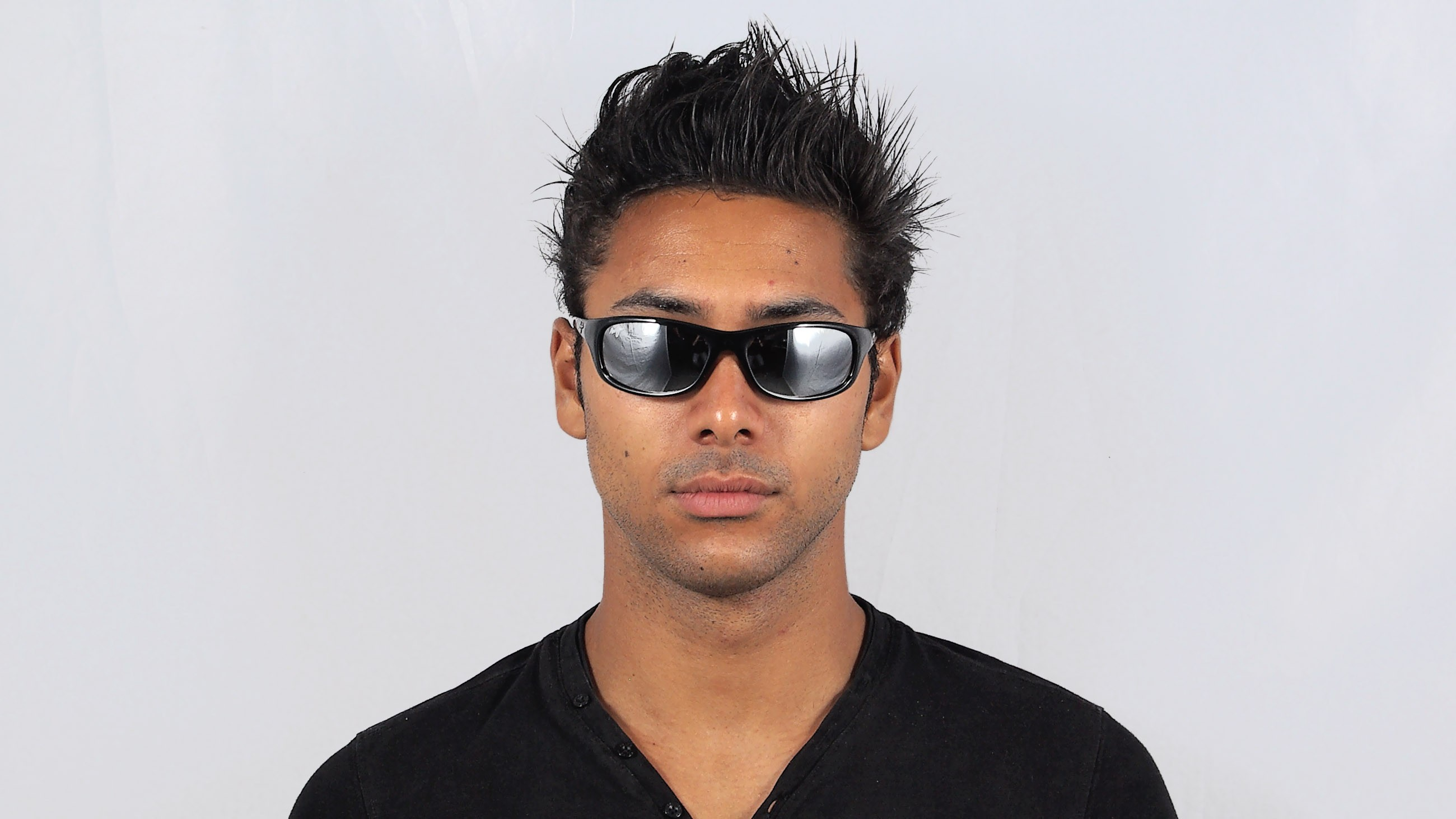 e147b542a0cf Sunglasses Maui Jim Kipahulu Black 279-02 59-19 Large Polarized Mirror