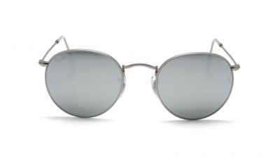 Ray-Ban Round Metal Argent RB3447 019/30 50-21