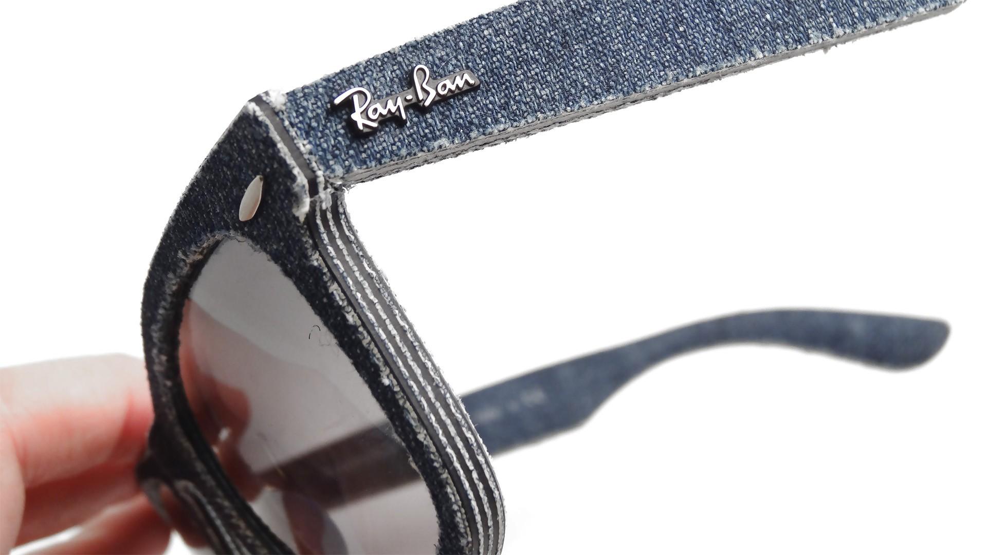 2fe366f3a Ray-Ban Original Wayfarer Denim Blue RB2140 1163/71 50-18 | Visiofactory