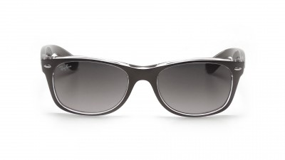 Ray-Ban New Wayfarer Metal Effect Grey RB2132 6143/71 52-18