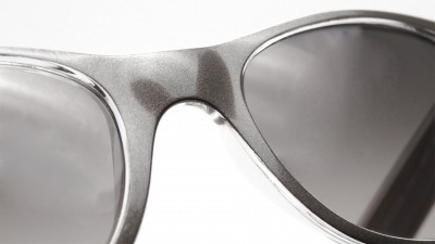 Ray-Ban New Wayfarer Metal Effect Gris RB2132 6143/71 55-18