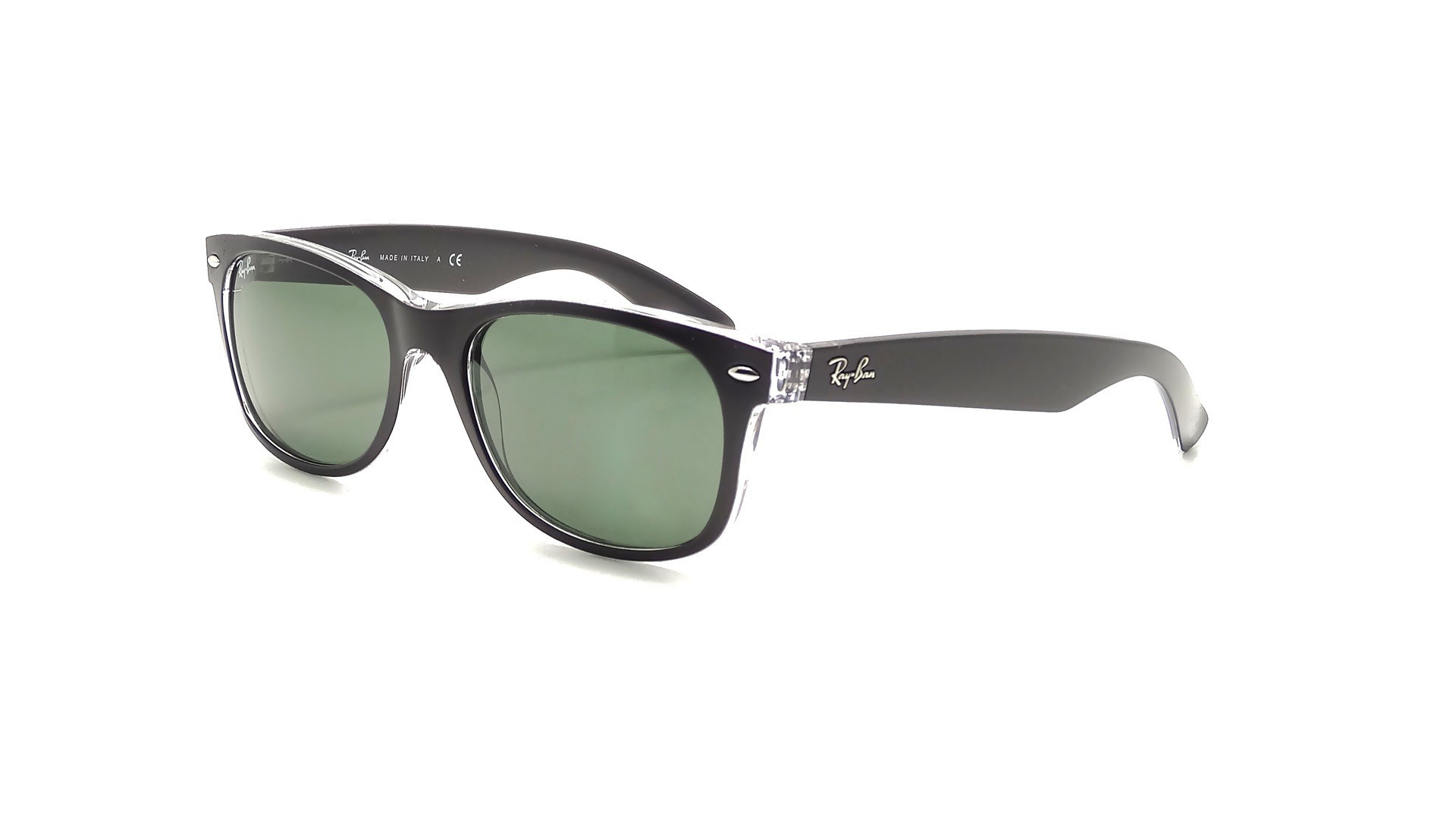 910dcf02d410b ... inexpensive sunglasses ray ban new wayfarer black rb2132 6052 58 55 18  large polarized 6593a 6ae23