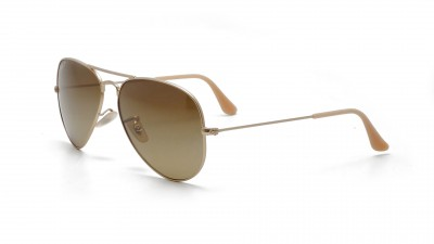 Ray-Ban P Aviator Large Metal Or RB3025 112/M2 58-14 Polarisés