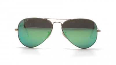 Ray-Ban P Aviator Large Metal Or RB3025 112/P9 58-14 Polarisés