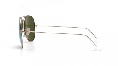 Ray-Ban Aviator Large Metal Gold RB3025 112/P9 58-14 Polarisierte Gläser