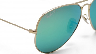 Ray-Ban P Aviator Large Metal Or RB3025 112/P9 58-14 Polarized
