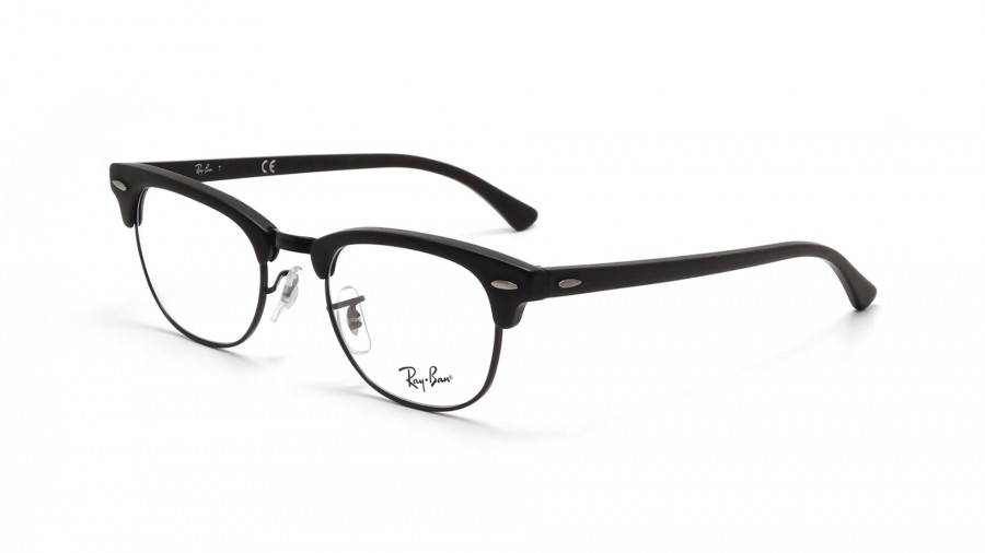 7f4d0c3f7 Lunettes de vue Ray-Ban Clubmaster Black RX5154 RB5154 2077 49-21 |  Visiofactory