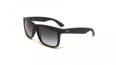 Ray-Ban Justin Noir RB4165 601/8G 51-16 Medium Dégradés