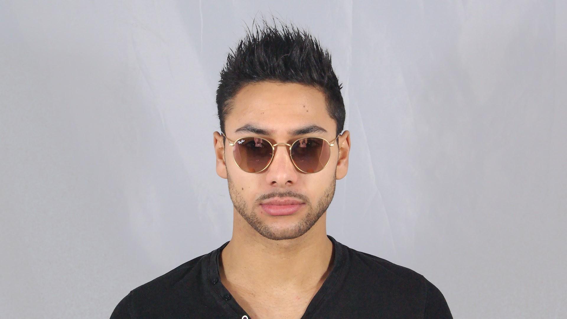 a782ff206d2 ... get sunglasses ray ban round metal gold flash lenses rb3447 112 z2 50  21 medium mirror
