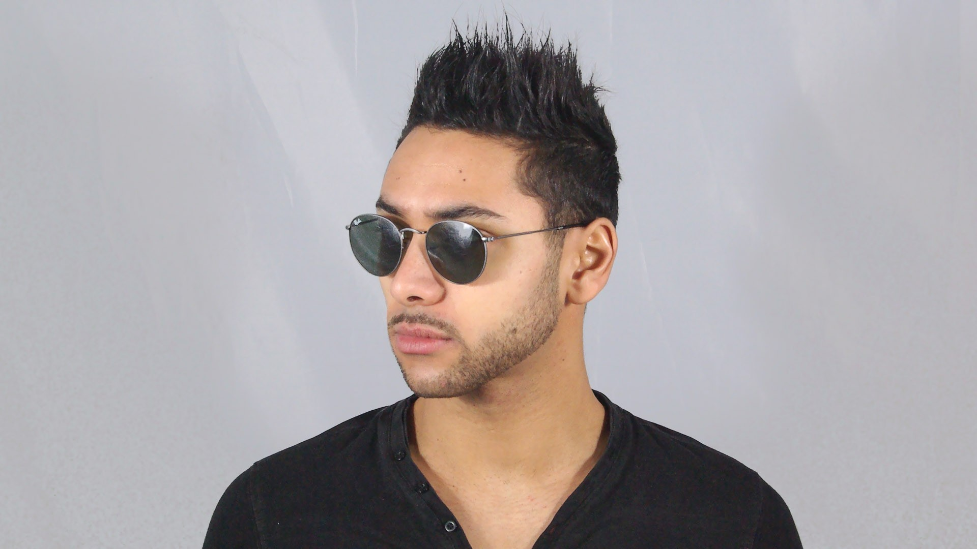 ray ban round homme