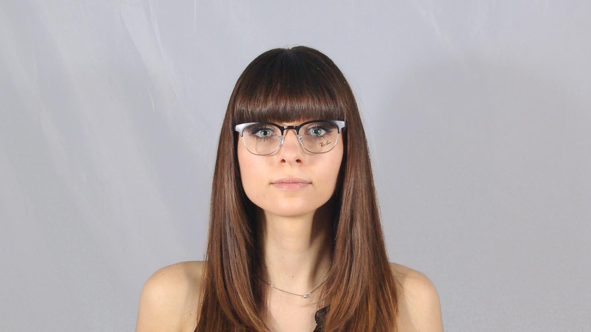 53104ee0b8 ... amazon eyeglasses ray ban clubmaster black rx6317 rb6317 2832 49 20  visiofactory 8ecf5 1b243