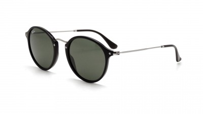 ray ban ronde homme noir