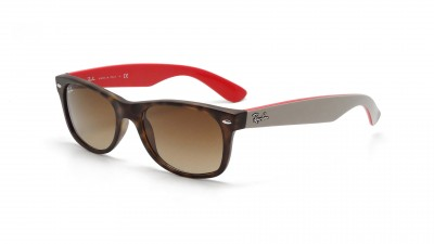 Ray Ban RB 2132 New Wayfarer 6181 85 Ecaille mate et beige 79,92 €
