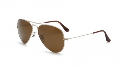 Ray-Ban P Aviator Large Metal Or RB3025 001/57 58-14 Polarisés 114,95 €