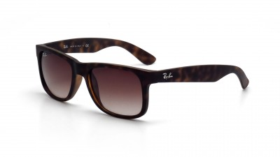 Ray-Ban Justin Écaille RB4165 710/13 51-16 Medium Dégradés