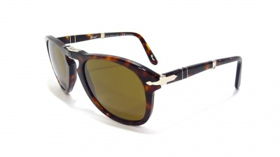 Persol PO0714 24/57 52-21 Small Tortoise Folding Polarized