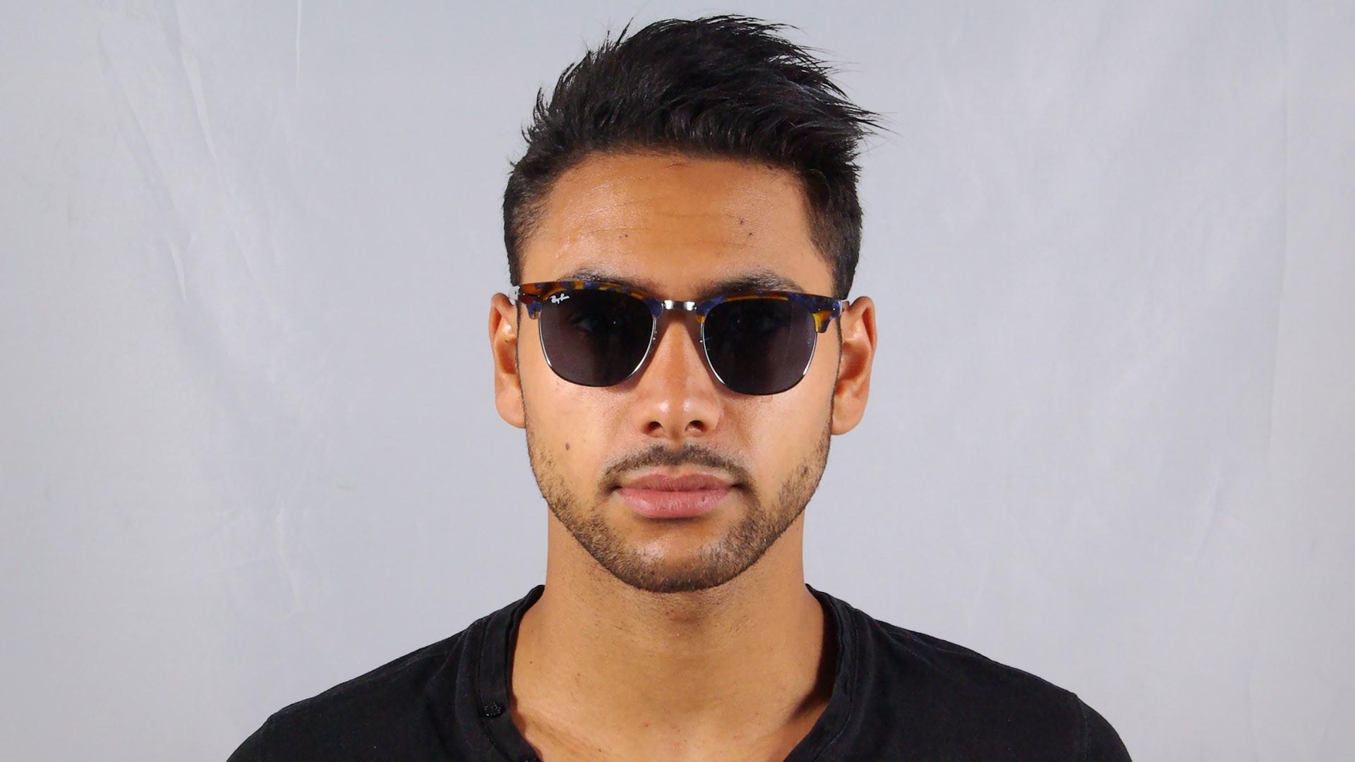 bb23cd6aaff ... get sunglasses ray ban clubmaster fleck tortoise g15 rb3016 1158 r5 51  21 medium cc182 507bb