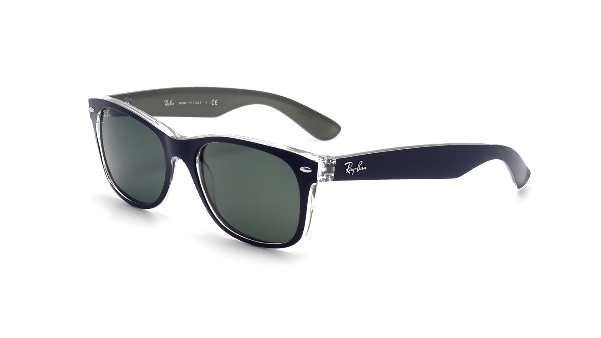 New 6188 Bleu 55 18 Medium Rb2132 Ray Ban Wayfarer EWIDH29