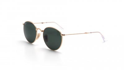 Ray-Ban Round Or RB3532 001 50-20 Pliantes 119,90 €