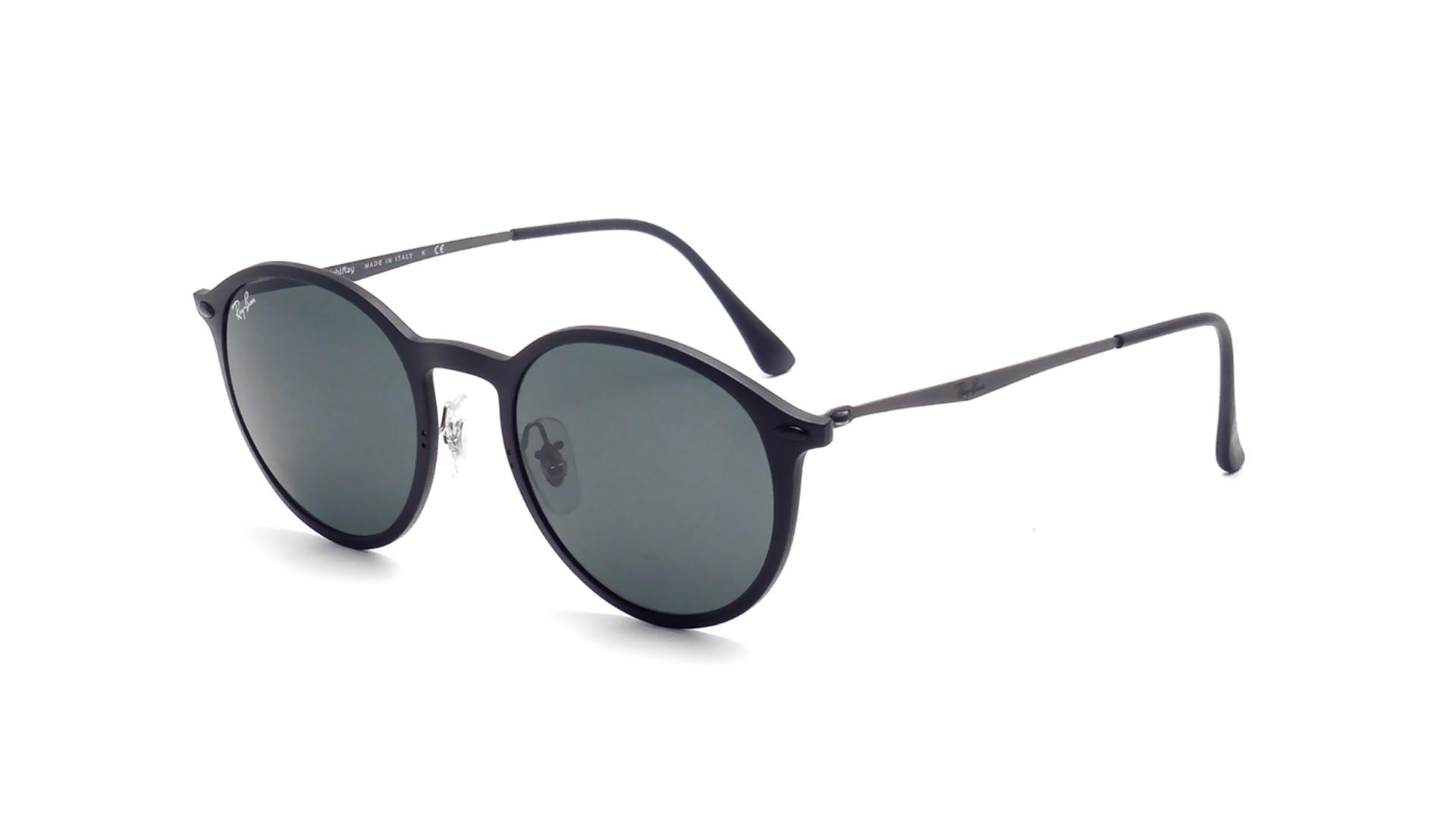 5d3aacb7c38b7 reduced sunglasses ray ban round light ray black rb4224 601s71 49 20 medium  1c858 bb726