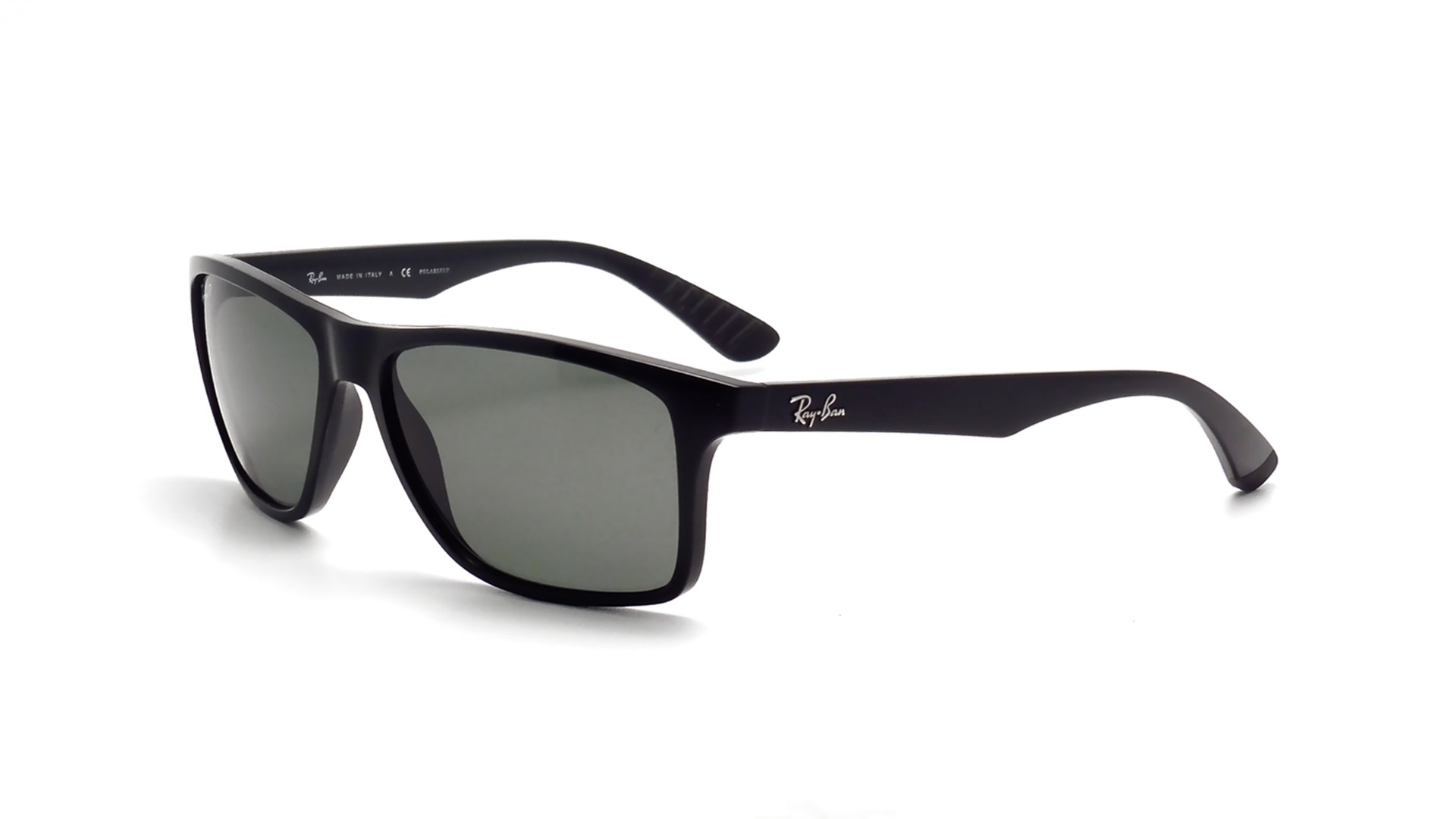 8ac24451cf ... Sunglasses Ray-Ban Active Lifestyle Black RB4234 6019A 58-16 Large  Polarized ...