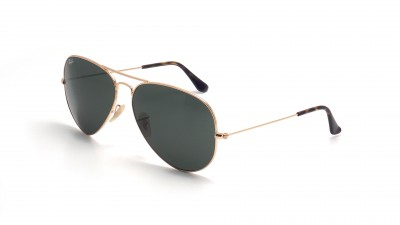 Ray-Ban Aviator Gold G15 RB3025 181 58-14 Medium
