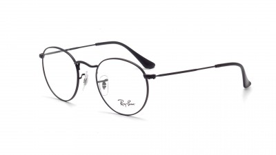 Eyeglasses Ray-Ban Round Metal RX3447 RB3447V 2503 47-21 Black 66,58 €