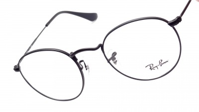 Eyeglasses Ray-Ban Round Metal RX3447 RB3447V 2503 47-21 Black